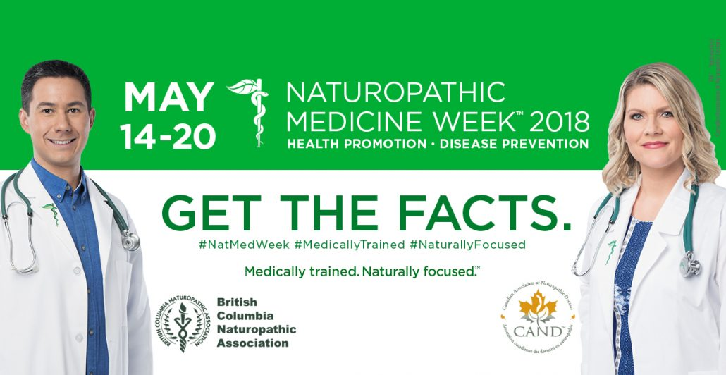 Naturopathic Medicine Week British Columbia Poster