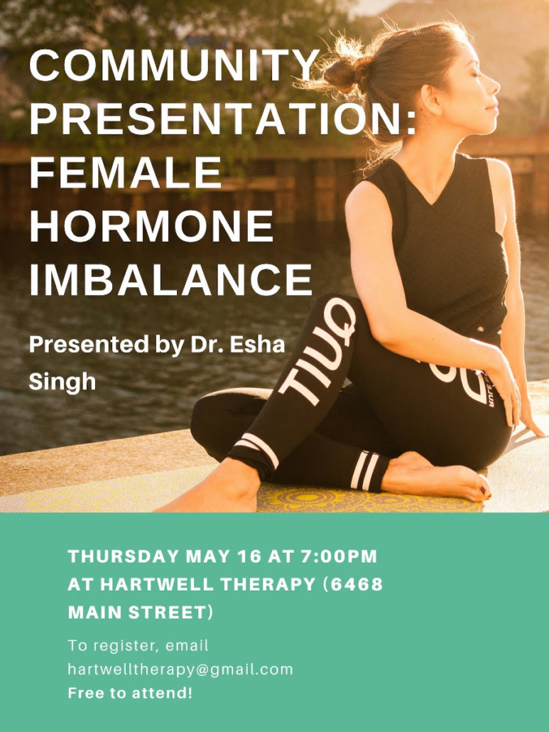 Hormone Imbalance Vancouver Poster